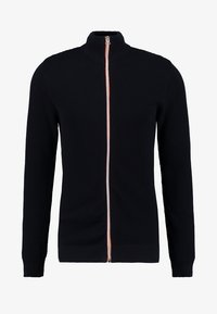 Kronstadt - ERIK ZIP - Chaqueta de punto - navy/orange - 4