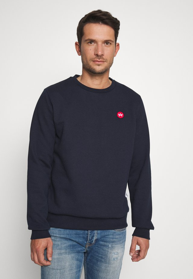 LARS RECYCLED - Sweatshirts - navy