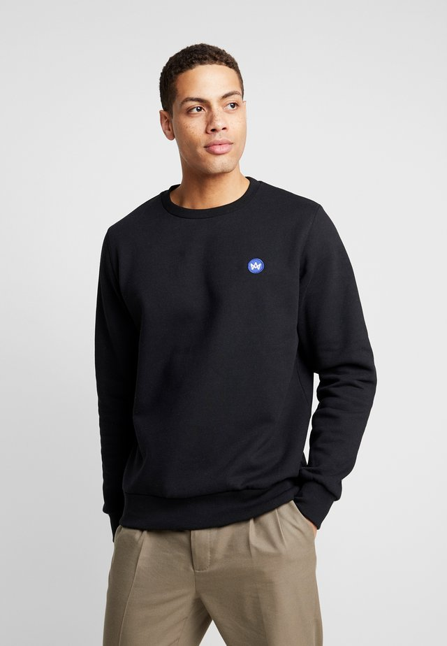 LARS RECYCLED - Sweatshirt - black