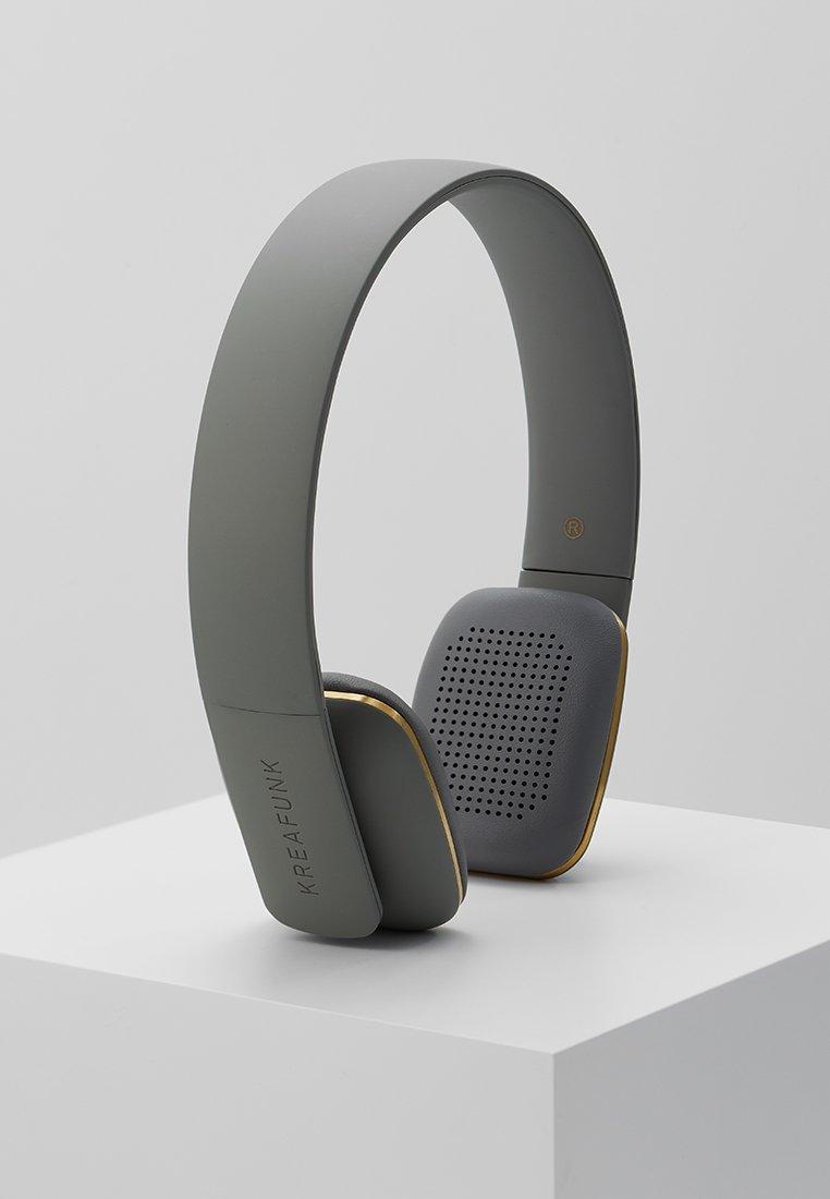 Kreafunk - AHEAD HEADSET BLUETOOTH - Auriculares - cool grey