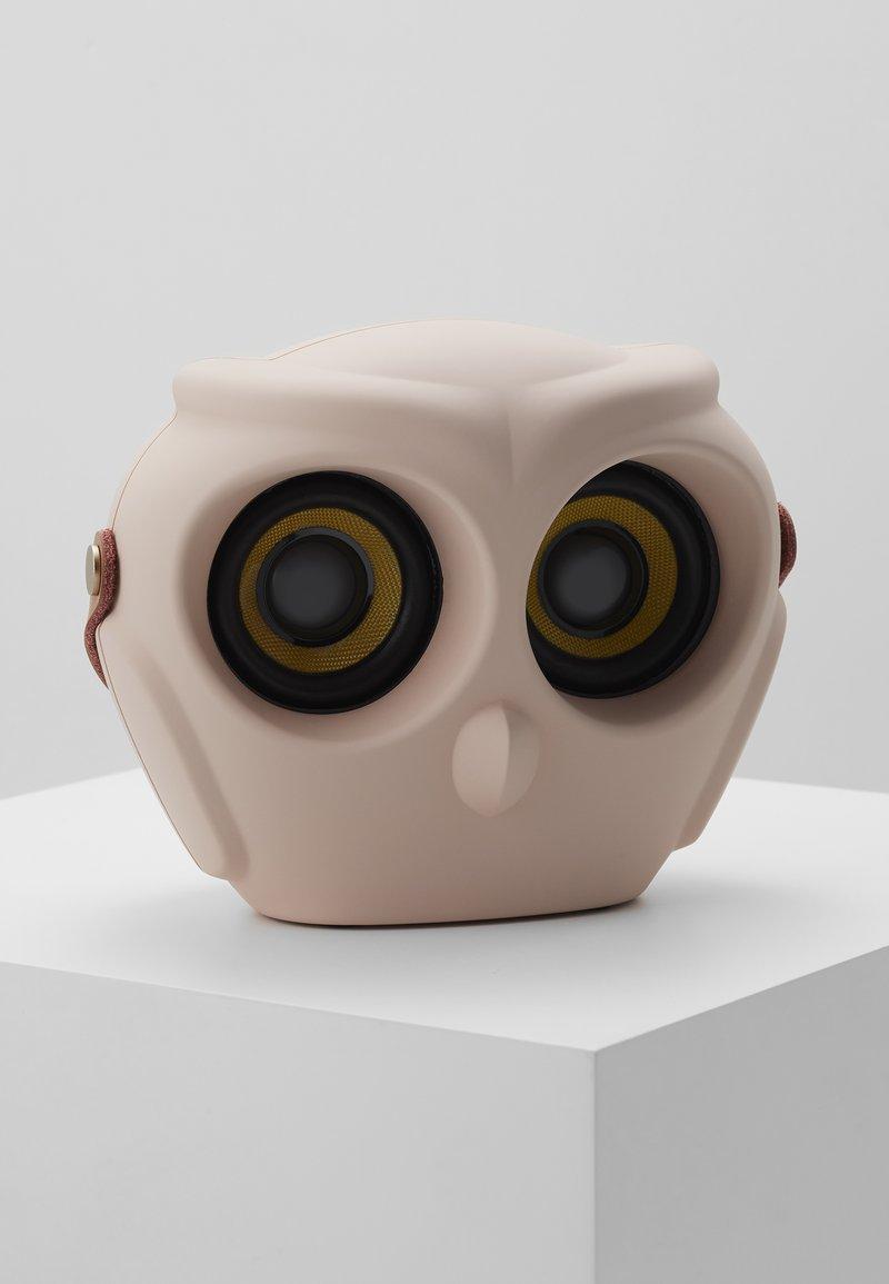 Kreafunk - AOWL SPEAKER - Speaker - dusty pink