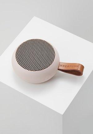 AGO - Speaker - dusty pink/rose gold