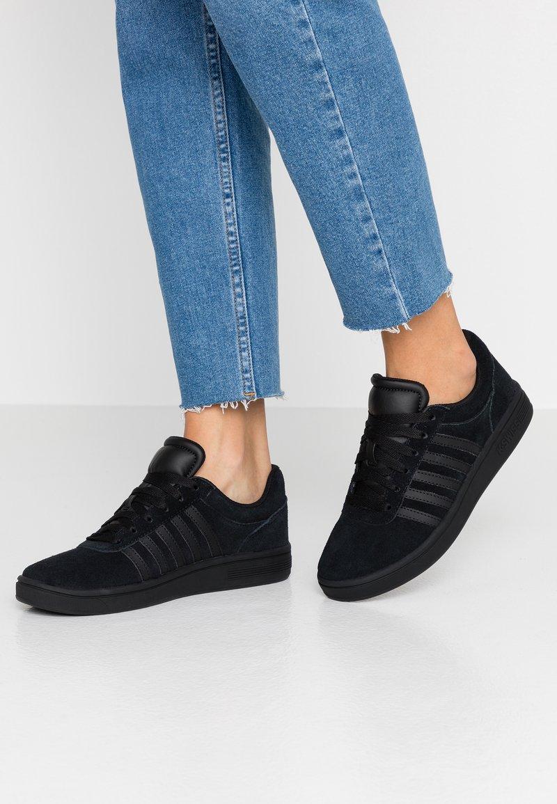 K-SWISS - COURT CHESWICK - Sneaker low - black