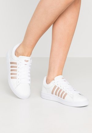 COURT WINSTON - Sneakers laag - white /rosegold