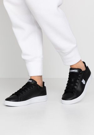 COURT SHIELD - Trainers - black/white