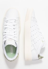 K-SWISS - COURT FRASCO - Zapatillas - seafoam green/snow white - 3