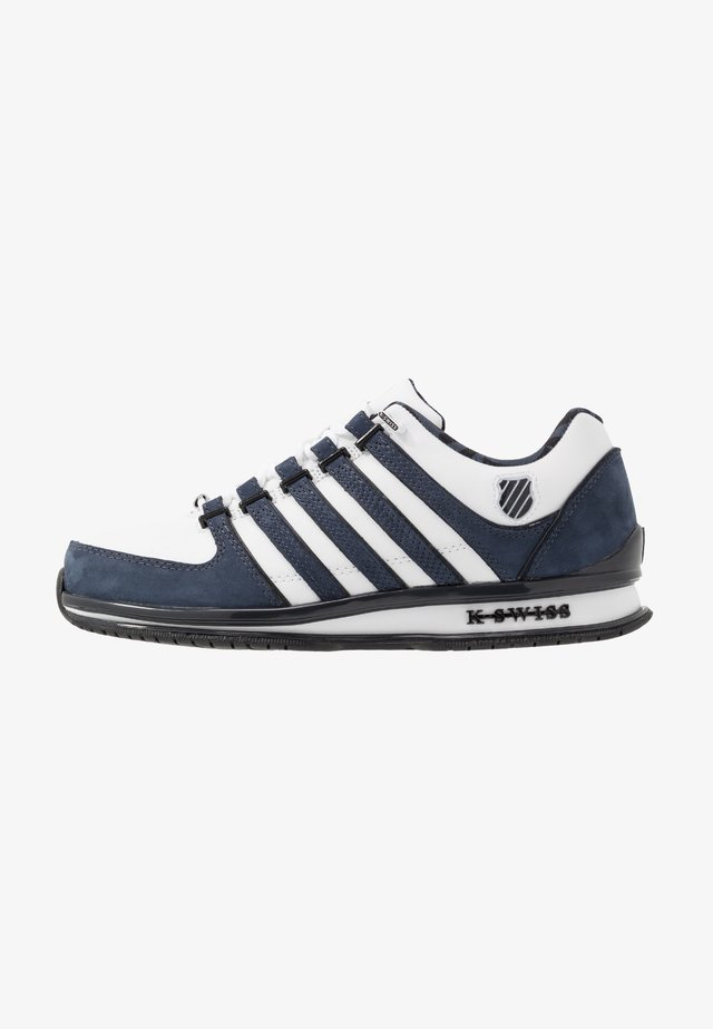 RINZLER - Trainers - white/ombre blue