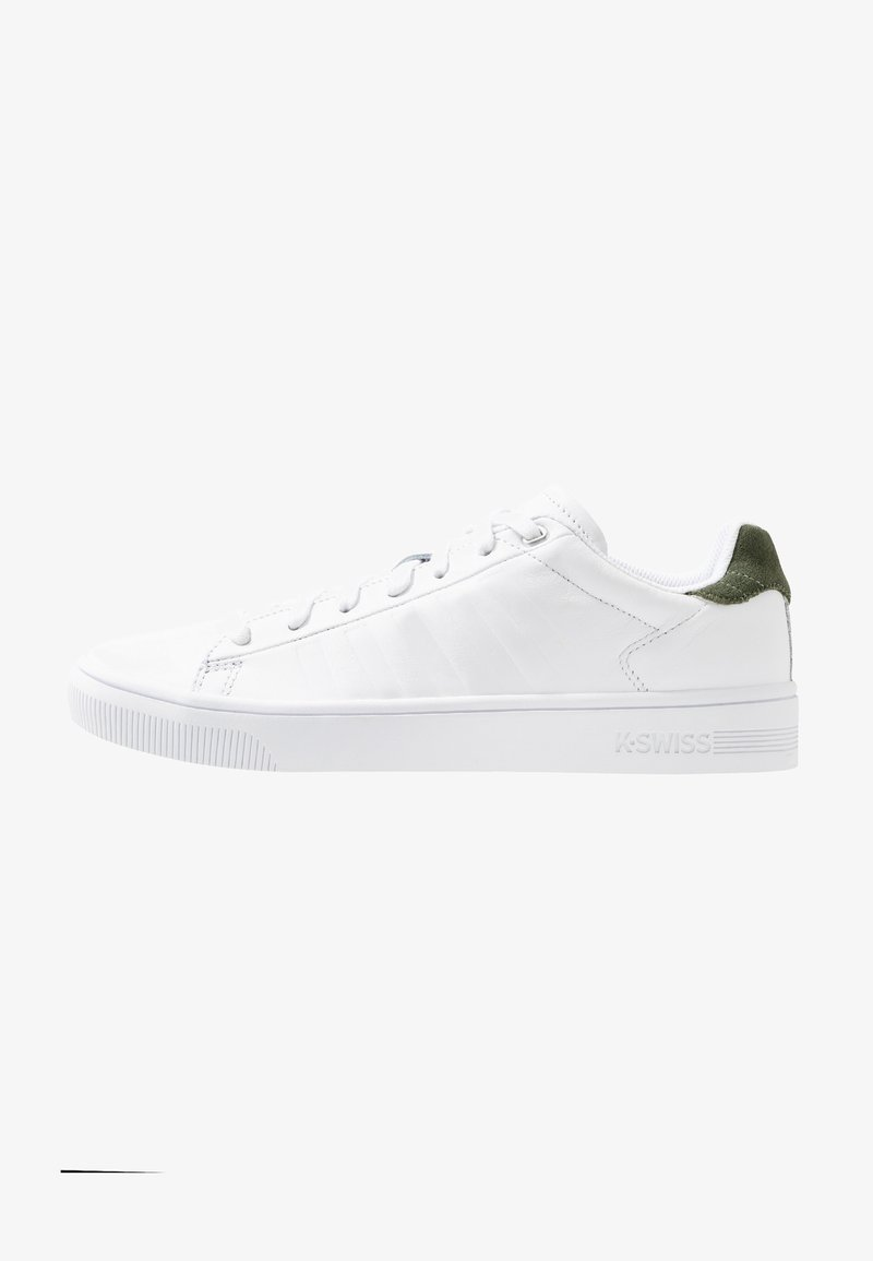 K-SWISS - COURT FRASCO - Sneakers laag - white/rifle green
