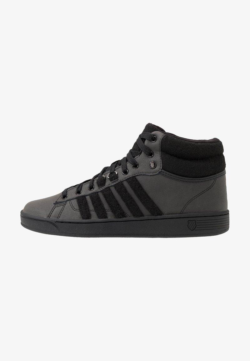 K-SWISS - HOKE MID CMF - Höga sneakers - black