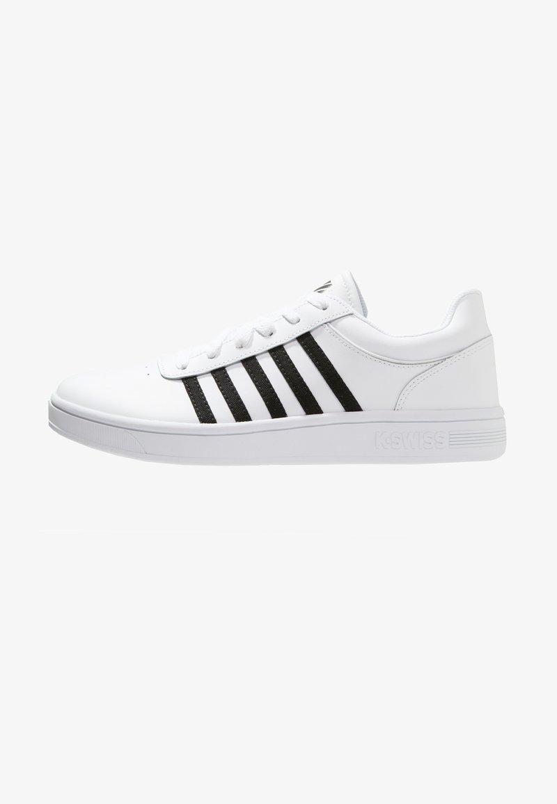 K-SWISS - COURT CHESWICK - Trainers - white/black