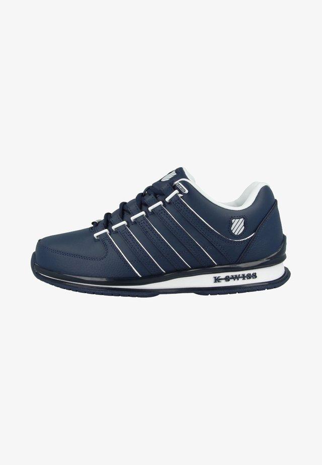 RINZLER SP SMU - Trainers - navy/white