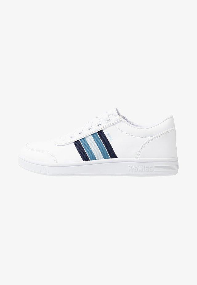 COURT CLARKSON - Sneakers - white/navy/blue heaven