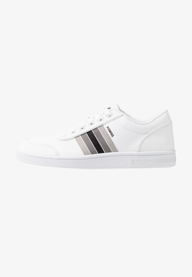 COURT CLARKSON - Sneaker low - white/gray/black