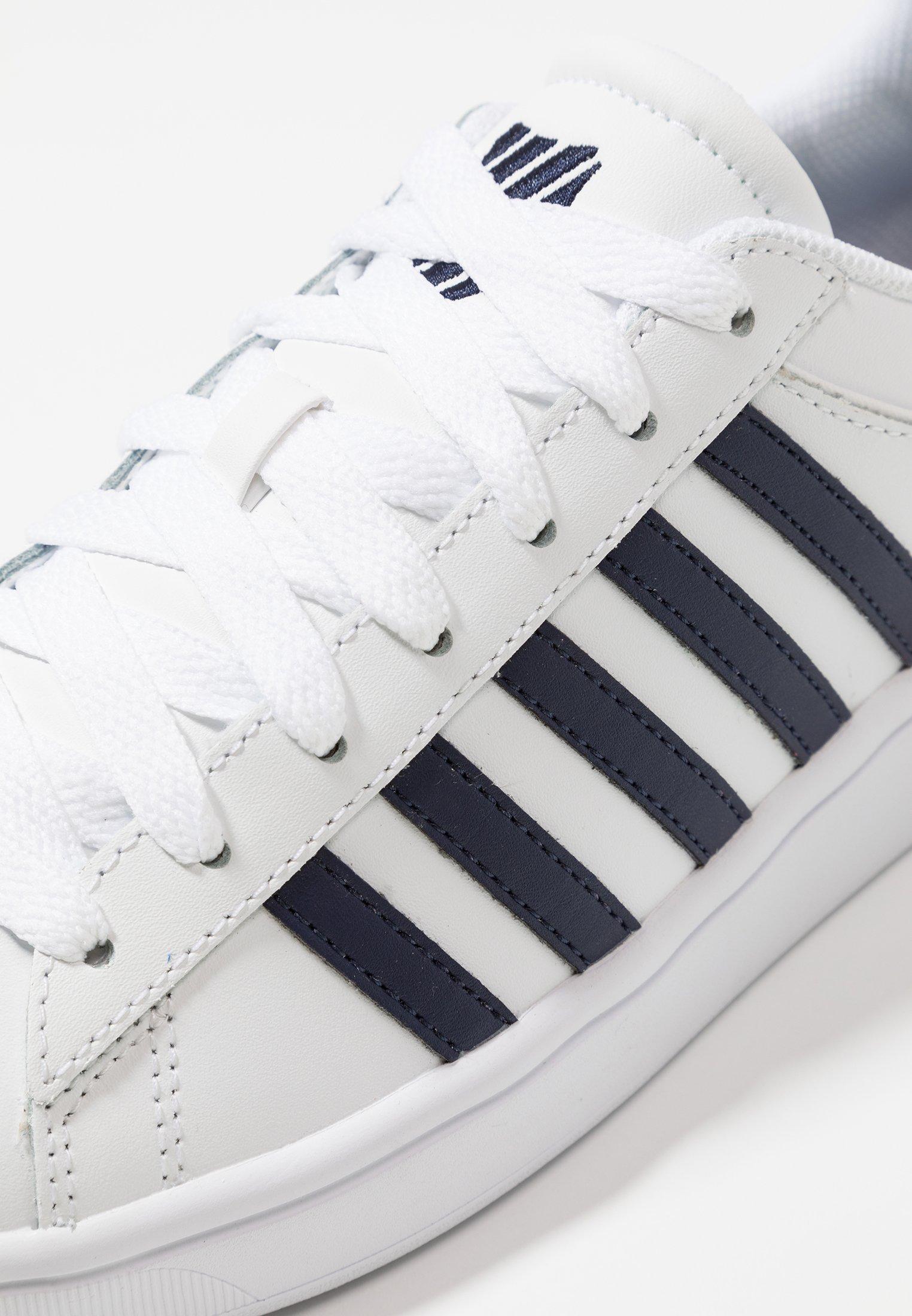 K-SWISS COURT WINSTON - Sneakers - white/navy