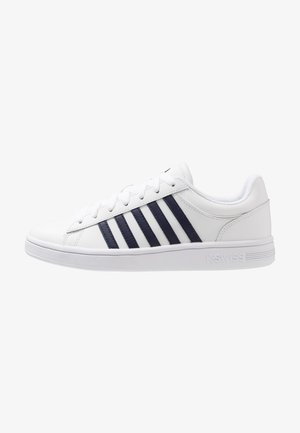 COURT WINSTON - Sneakers laag - white/navy