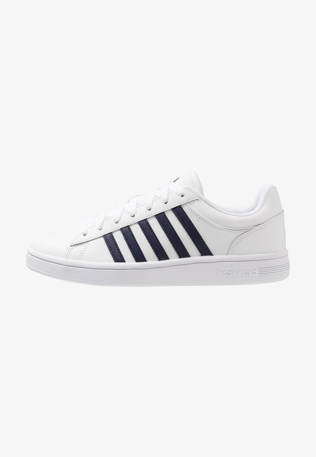COURT WINSTON - Sneakers laag - white/navy