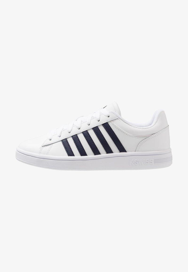 K-SWISS - COURT WINSTON - Sneakers laag - white/navy