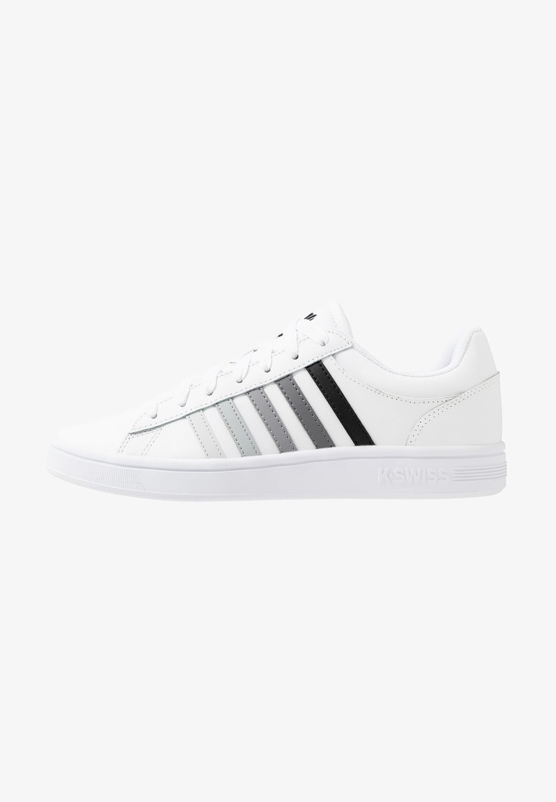 K-SWISS - COURT WINSTON - Sneaker low - white/black gradient