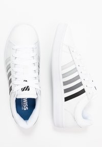 K-SWISS - COURT WINSTON - Sneaker low - white/black gradient - 1