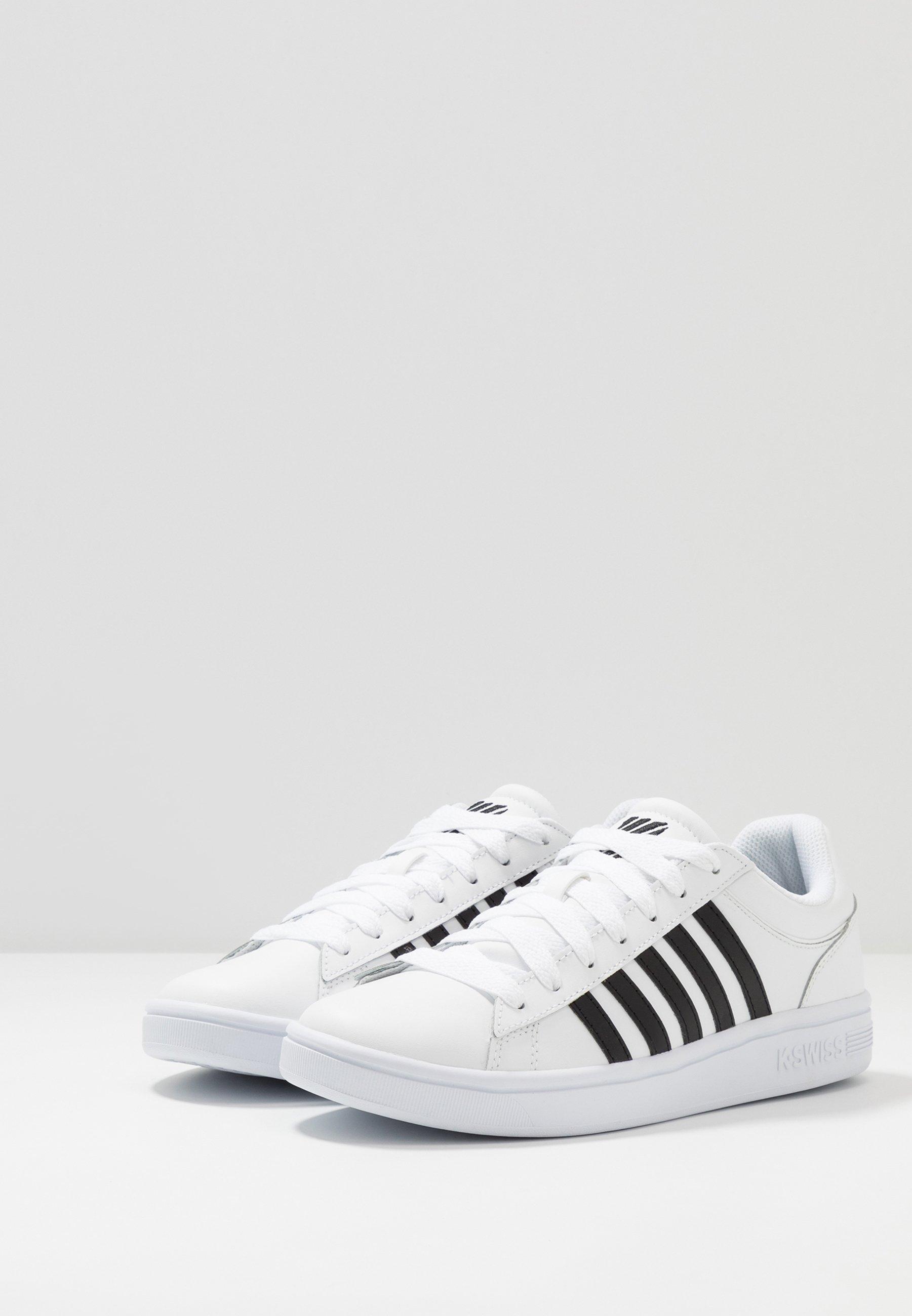 K-swiss Court Winston - Baskets Basses White/black