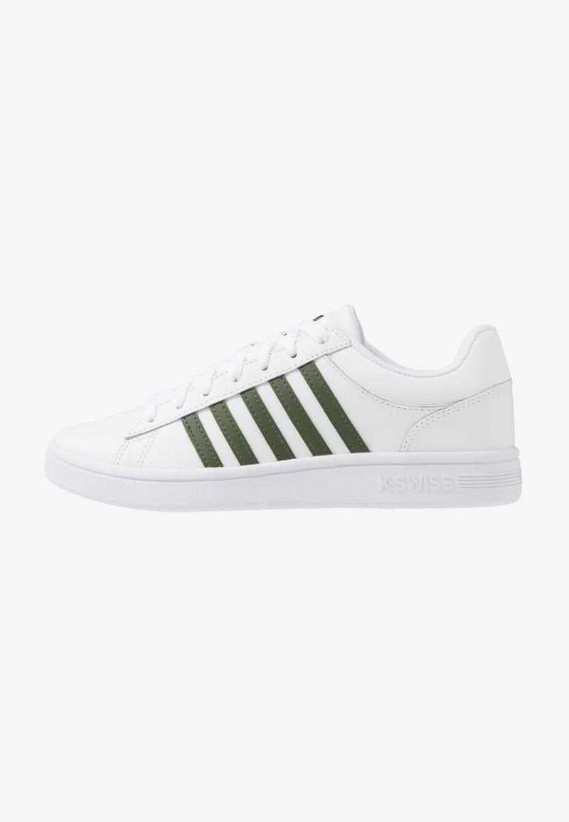 K-SWISS - COURT WINSTON - Sneakersy niskie - white