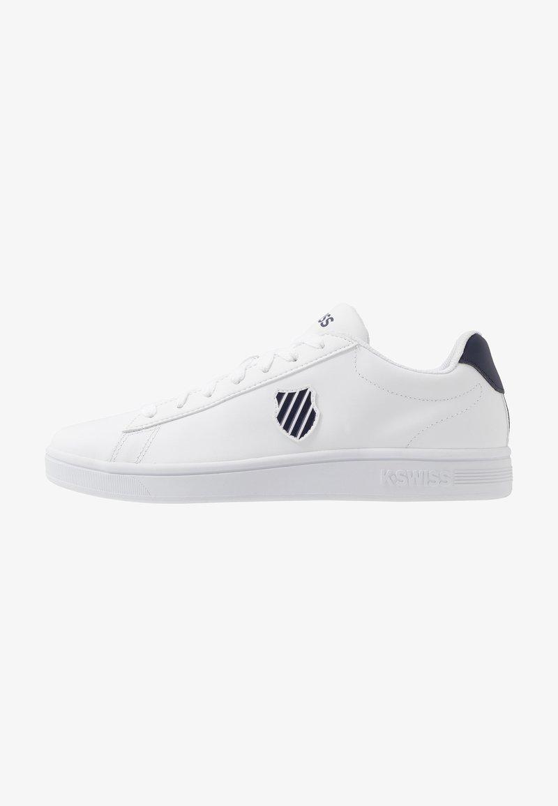 K-SWISS - COURT SHIELD - Sneaker low - white/navy