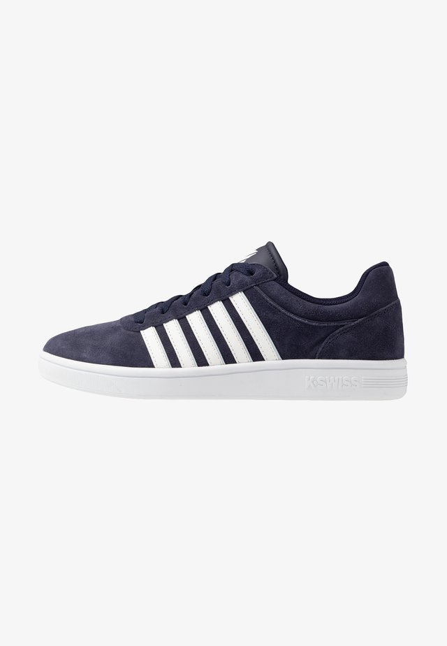 COURT CHESWICK - Sneakersy niskie - navy/white/balade blue