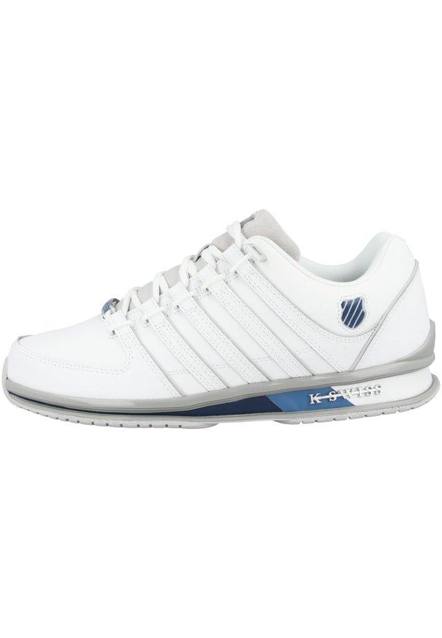 RINZLER  - Trainers - white-vapor blue-majolica blue (02283-947)