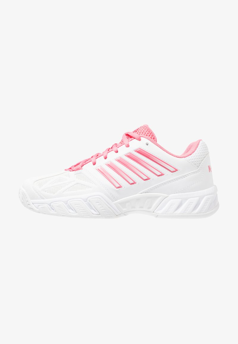 K-SWISS - BIG SHOT LIGHT 3 - Multicourt Tennisschuh - white/pink lemonade