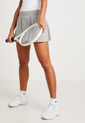 HYPERCOURT SKIRT - Sports skirt - light grey melange