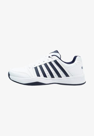 COURT SMASH - Tennissko til multicourt - white/navy
