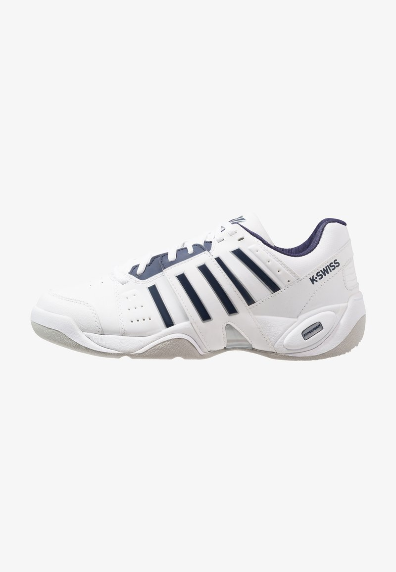 K-SWISS - ACCOMPLISH III CARPET - Tennisschuh für Teppichböden - white/navy