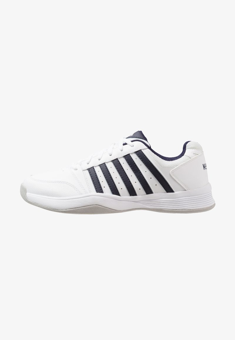 K-SWISS - COURT SMASH CARPET - Tennisschuh für Teppichböden - white/navy