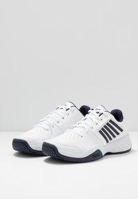 K-SWISS - COURT EXPRESS - Clay court tennissko - white/navy - 2