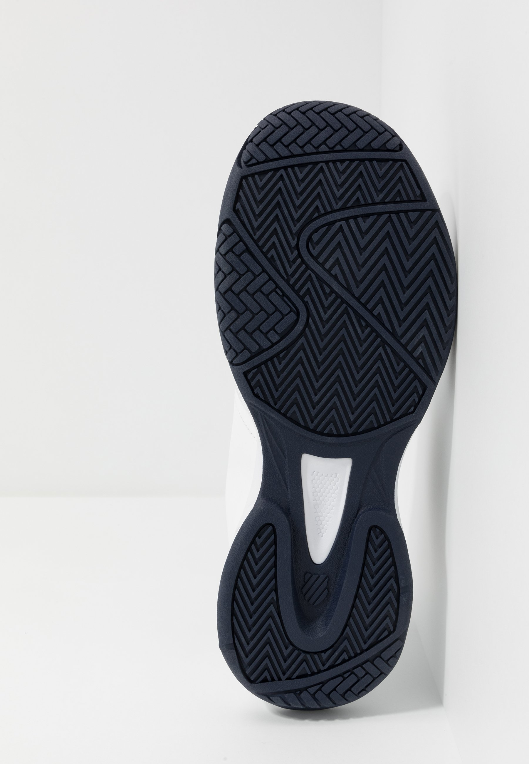 K-swiss Court Express - Chaussures De Tennis Pour Terre-battueerre Battue White/navy FsgdzOn