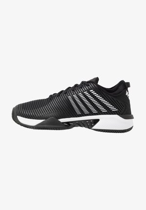HYPERCOURT SUPREME HB - Clay court tennissko - black/white