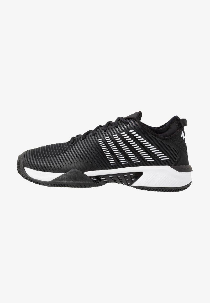 K-SWISS - HYPERCOURT SUPREME HB - Zapatillas de tenis para tierra batida - black/white