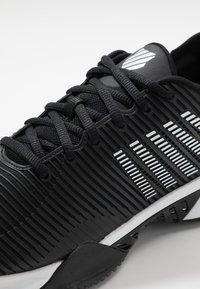 K-SWISS - HYPERCOURT SUPREME HB - Zapatillas de tenis para tierra batida - black/white - 5