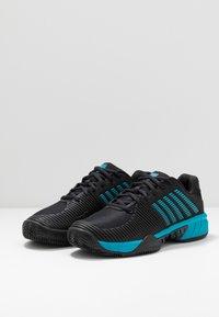 K-SWISS - EXPRESS LIGHT 2 HB - Clay court tennissko - black/algiers blue - 2
