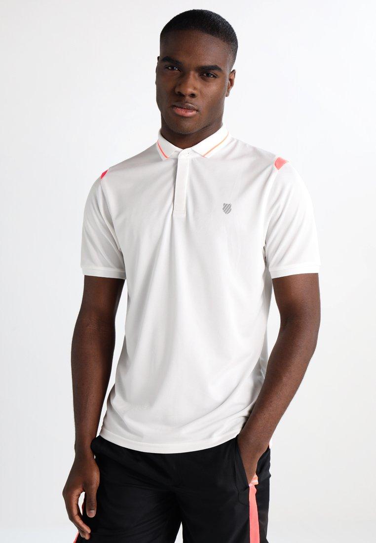 K-SWISS - BACK COURT - Polo shirt - bright white
