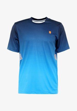 HYPERCOURT EXPRESS CREW TEE - T-shirt print - navy/blue