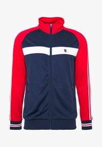 K-SWISS - HERITAGE SPORT TRACKSUIT JACKET - Training jacket - navy/red - 4