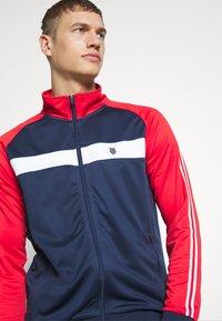K-SWISS - HERITAGE SPORT TRACKSUIT JACKET - Training jacket - navy/red - 3