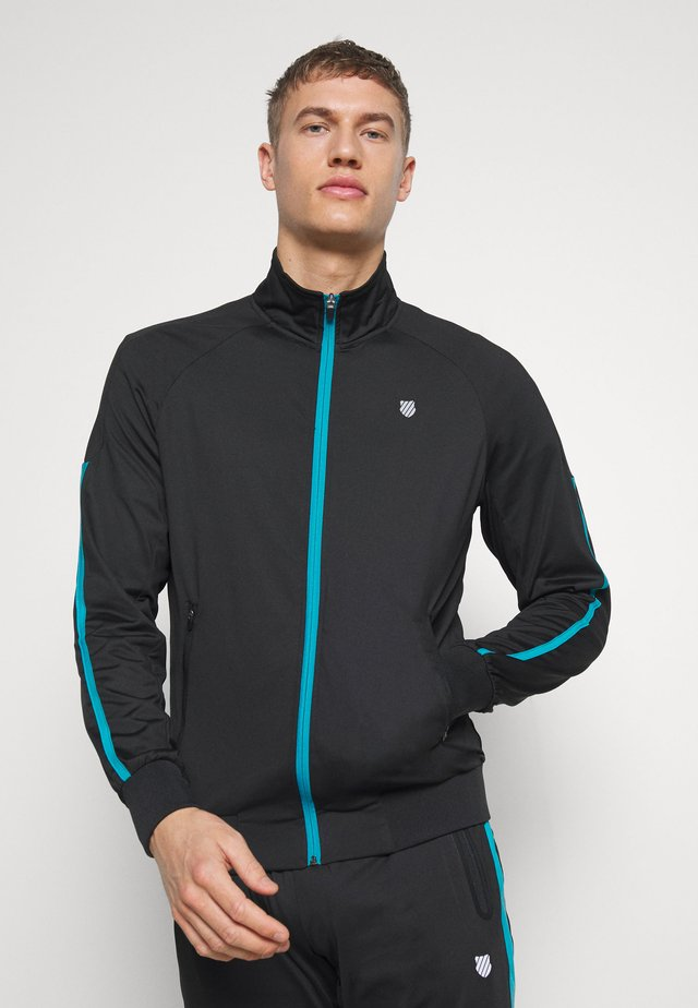 HYPERCOURT TRACKSUIT JACKET - Training jacket - limo black/algiers blue