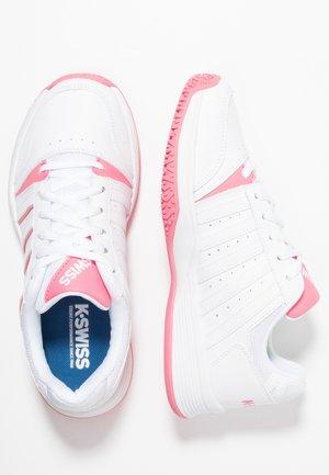 COURT SMASH OMNI - Tennisschoenen voor alle ondergronden - white/pink lemonade
