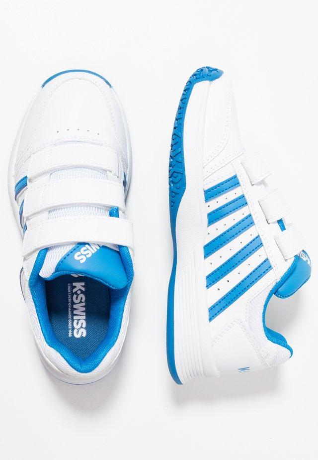 COURT SMASH STRAP OMNI - Multicourt tennis shoes - white/brilliant blue