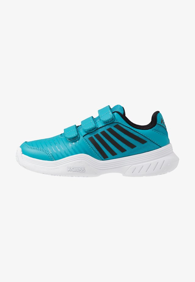 COURT EXPRESS STRAP OMNI - Tennissko til multicourt - algiers blue/white