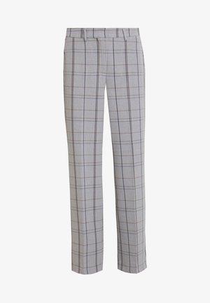 SYDNEY WIDE CHECK PANTS - Kalhoty - grey