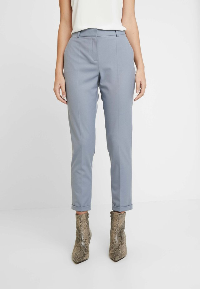 SYDNEY CIGARETTE PANTS - Bukser - blue bone