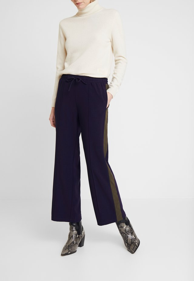 RONJA PANTS - Stoffhose - sky captain